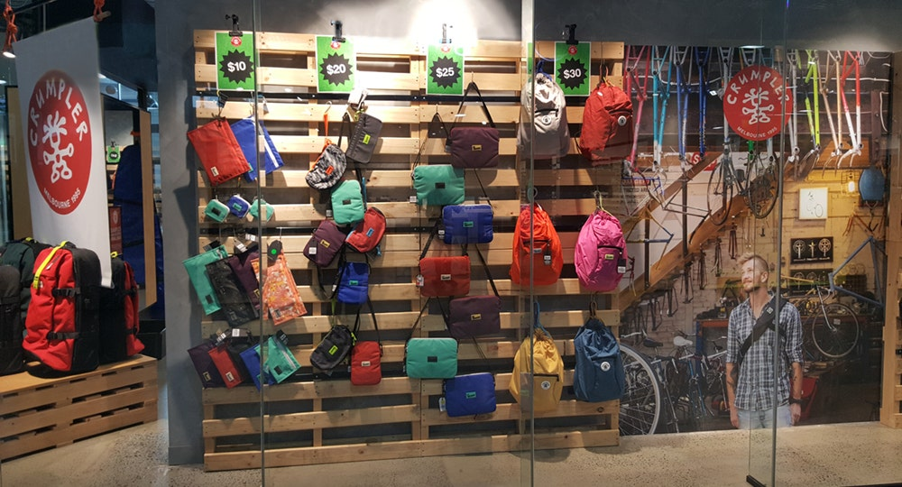 Crumpler Clearance Brisbane Dfo Store Close To The Airport